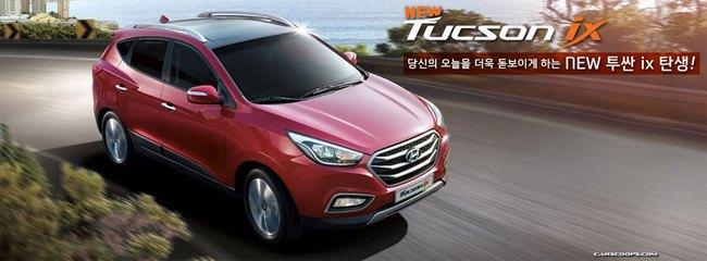 Hyundai Tucson ix 2014 lộ diện 5