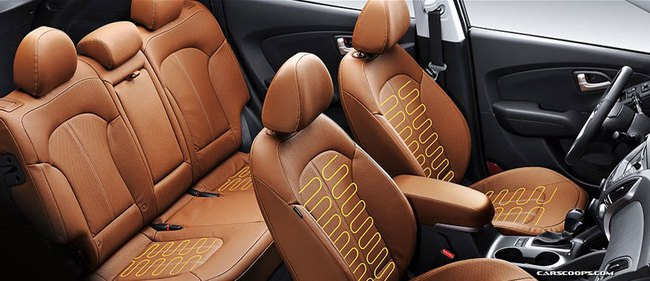 Hyundai Tucson ix 2014 lộ diện 20