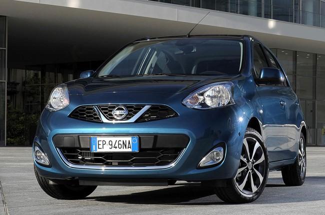 Nissan Micra 2013 bản Âu trình làng 4