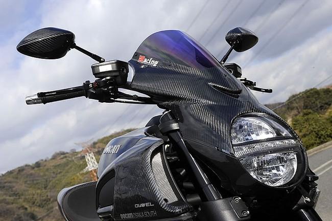 Ducati Diavel độ toàn carbon cực hầm hố 3
