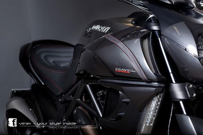 Ducati Diavel dữ dằn và cao cấp hơn 11