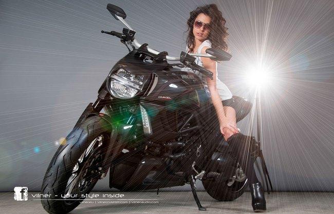 Ducati Diavel dữ dằn và cao cấp hơn 5