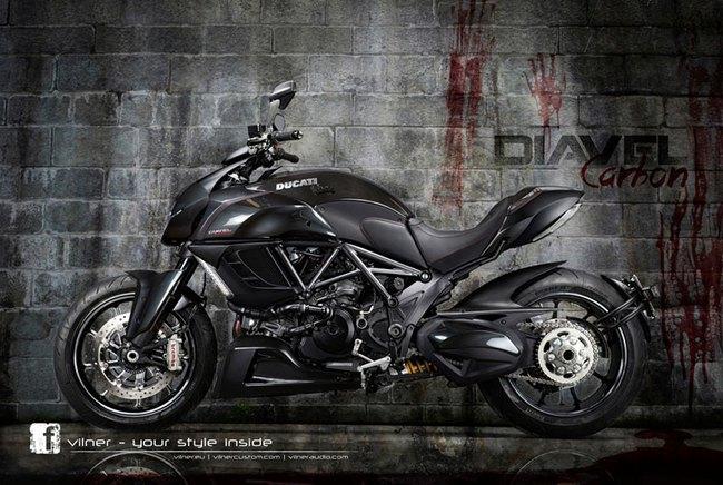 Ducati Diavel dữ dằn và cao cấp hơn 1