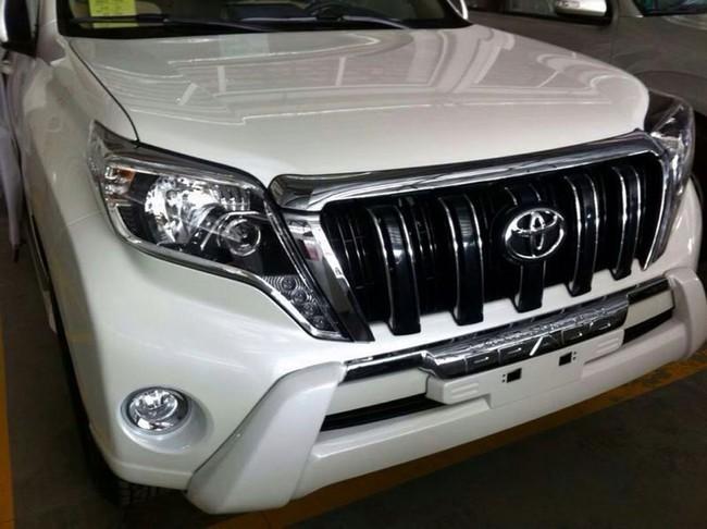 Rò rỉ hình ảnh của Toyota Land Cruiser Prado 2014 2