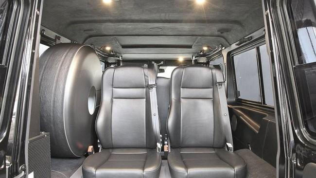Độc đáo với Mercedes-Benz G63 AMG trục cơ sở dài 1