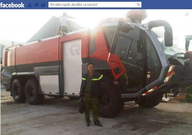 Cảnh sát phòng cháy chữa cháy Khánh Hòa được trang bị xe triệu đô 1