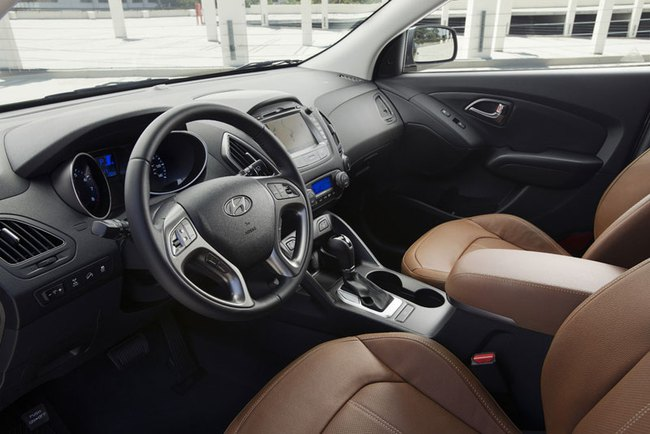 Hyundai Tucson 2014: Động cơ nâng cấp, tiết kiệm xăng hơn 4