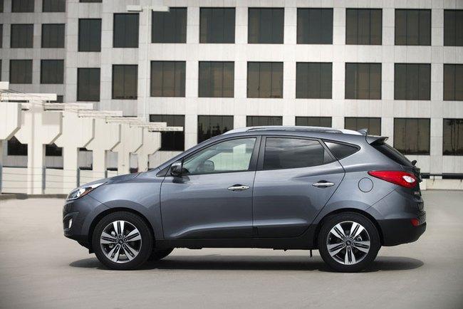 Hyundai Tucson 2014: Động cơ nâng cấp, tiết kiệm xăng hơn 2