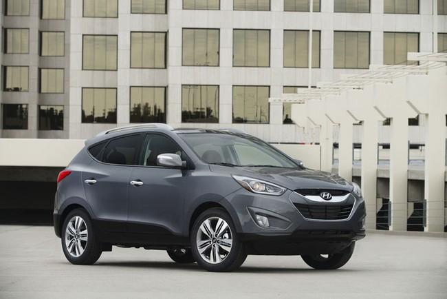 Hyundai Tucson 2014: Động cơ nâng cấp, tiết kiệm xăng hơn 3