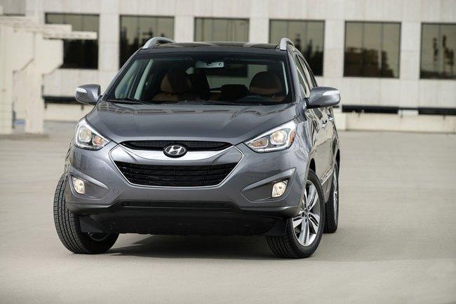 Hyundai Tucson 2014: Động cơ nâng cấp, tiết kiệm xăng hơn 1