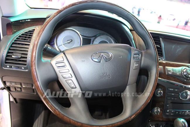 VMS 2013: Infiniti QX80 - Xe SUV hạng sang cỡ lớn mới cho người Việt 7