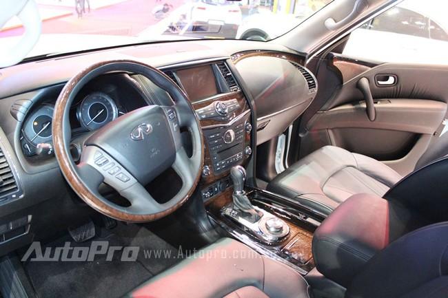 VMS 2013: Infiniti QX80 - Xe SUV hạng sang cỡ lớn mới cho người Việt 2