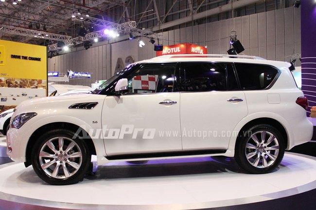 VMS 2013: Infiniti QX80 - Xe SUV hạng sang cỡ lớn mới cho người Việt 4