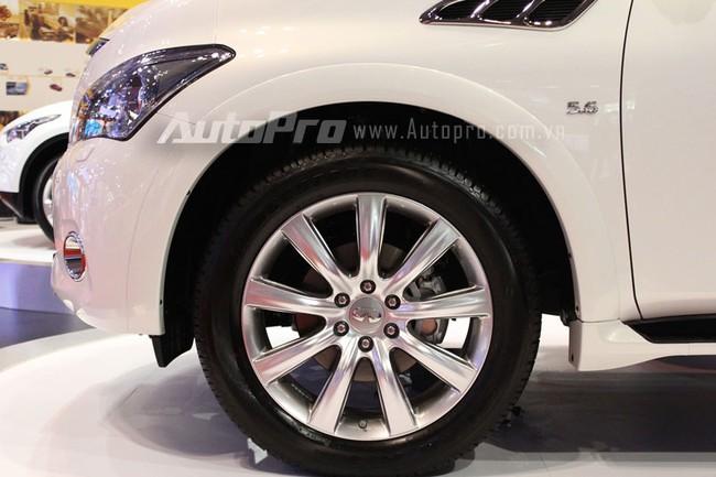 VMS 2013: Infiniti QX80 - Xe SUV hạng sang cỡ lớn mới cho người Việt 5