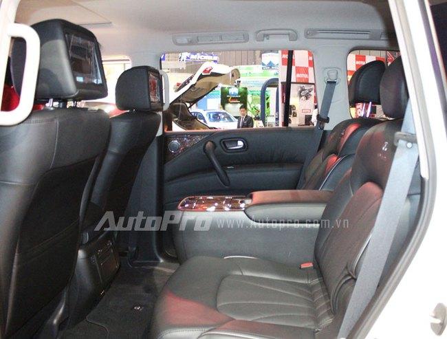 VMS 2013: Infiniti QX80 - Xe SUV hạng sang cỡ lớn mới cho người Việt 12
