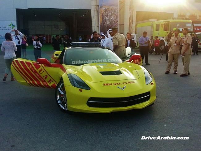 Chevrolet Corvette 2014 được dùng làm xe cứu hỏa 3