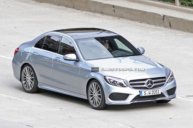Mercedes-Benz C-Class 2015: Trẻ trung và giống S-Class hơn 1