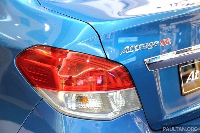 Mitsubishi Attrage - Xe dưới 20.000 USD mới cho Đông Nam Á 12