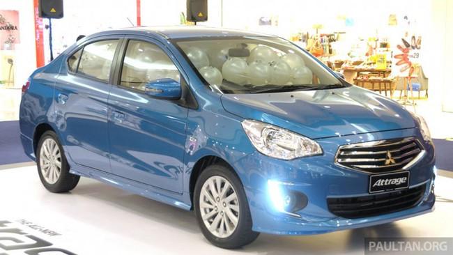 Mitsubishi Attrage - Xe dưới 20.000 USD mới cho Đông Nam Á 1