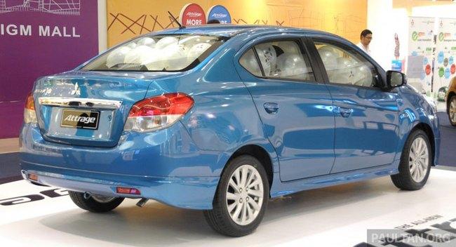 Mitsubishi Attrage - Xe dưới 20.000 USD mới cho Đông Nam Á 2