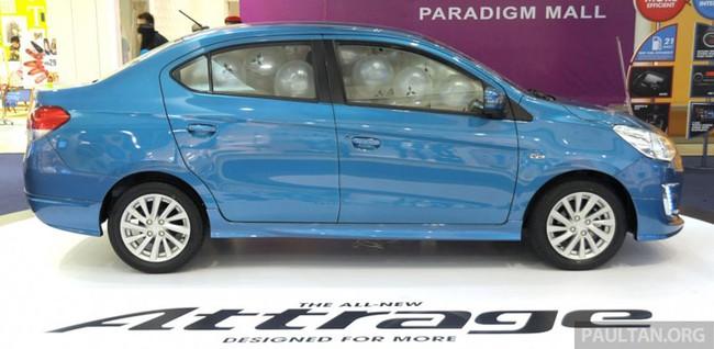 Mitsubishi Attrage - Xe dưới 20.000 USD mới cho Đông Nam Á 3