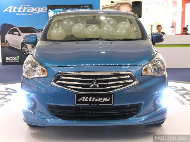 Mitsubishi Attrage - Xe dưới 20.000 USD mới cho Đông Nam Á 5