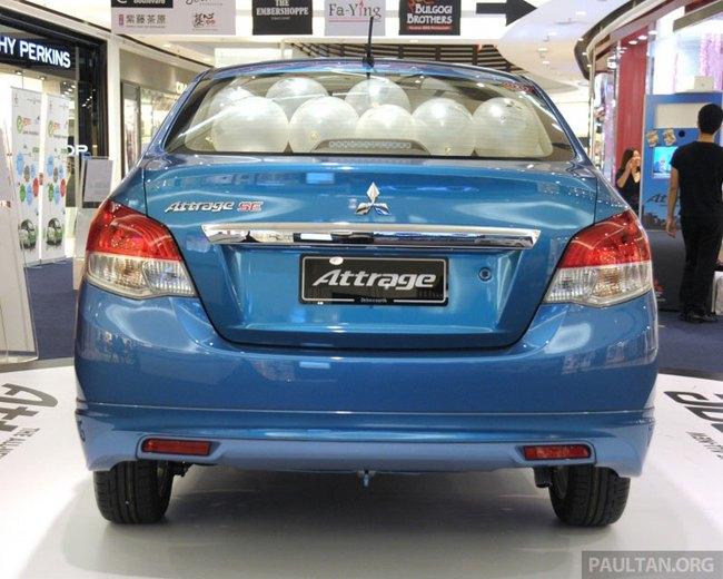 Mitsubishi Attrage - Xe dưới 20.000 USD mới cho Đông Nam Á 6