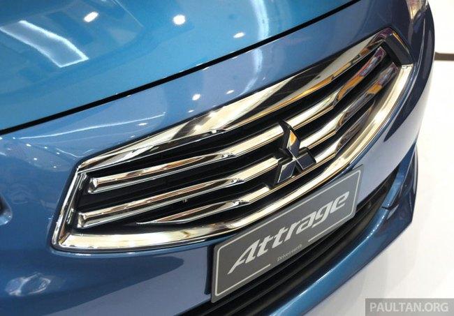 Mitsubishi Attrage - Xe dưới 20.000 USD mới cho Đông Nam Á 9