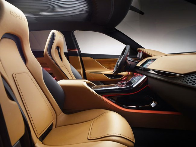 Jaguar C-X17 nâng  cấp với nội thất 5 chỗ ngồi 7