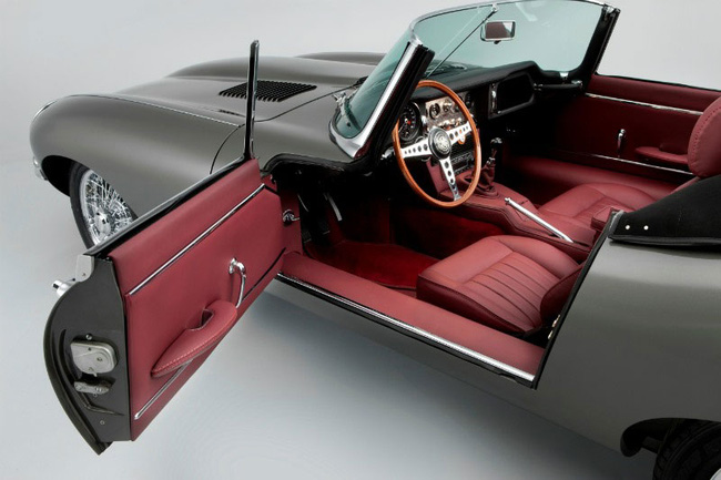 """Đến huyền thoại Jaguar E-Type cũng bị """"dao kéo"""" 1"""