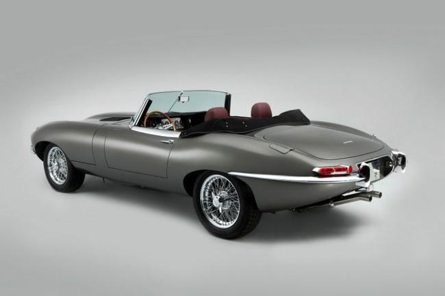 """Đến huyền thoại Jaguar E-Type cũng bị """"dao kéo"""" 4"""