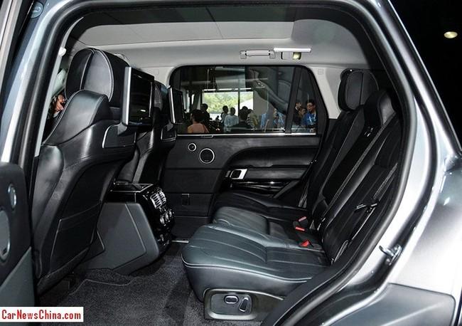 Range Rover Vogue SE L - Xe SUV kéo dài cho giới nhà giàu 2
