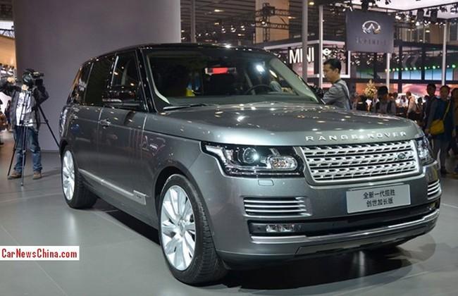Range Rover Vogue SE L - Xe SUV kéo dài cho giới nhà giàu 1
