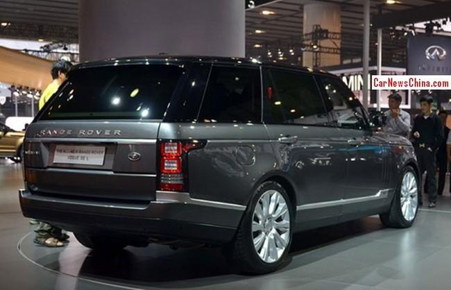 Range Rover Vogue SE L - Xe SUV kéo dài cho giới nhà giàu 4