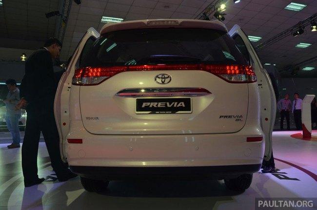 Cận cảnh Toyota Previa dùng máy Camry cũ cho Đông Nam Á 6