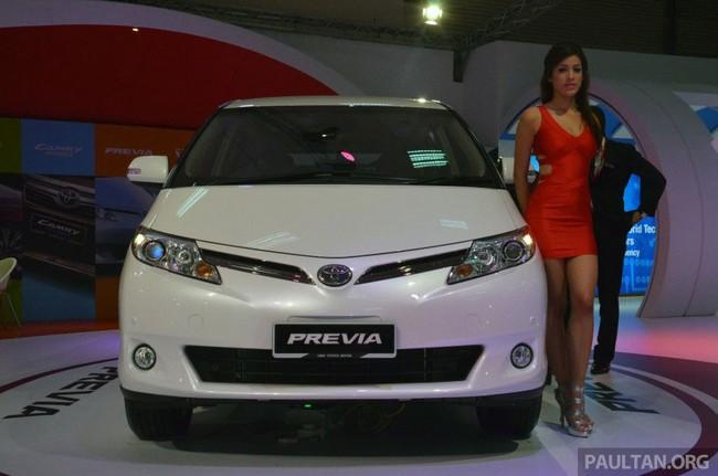 Cận cảnh Toyota Previa dùng máy Camry cũ cho Đông Nam Á 3
