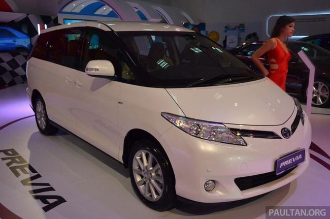 Cận cảnh Toyota Previa dùng máy Camry cũ cho Đông Nam Á 4