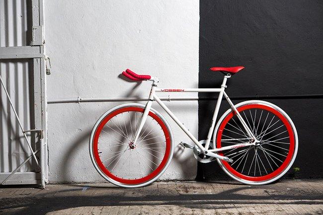 """Hot girl mặt đẹp, dáng chuẩn quảng cáo xe đạp Fixed Gear giá """"mềm"""" 4"""