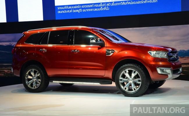 Ford Everest Concept ra mắt thị trường Đông Nam Á 2