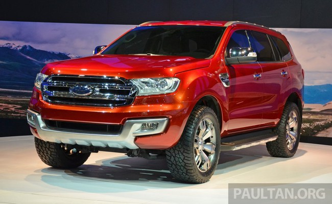 Ford Everest Concept ra mắt thị trường Đông Nam Á 3
