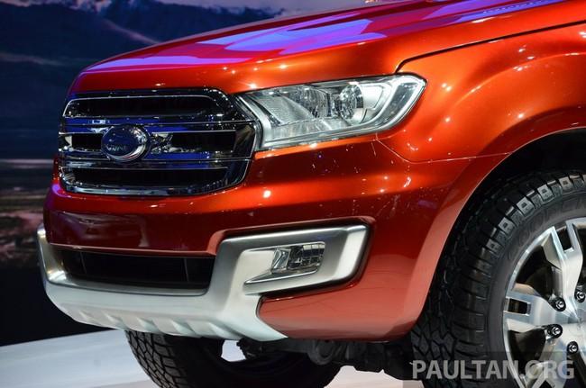 Ford Everest Concept ra mắt thị trường Đông Nam Á 6