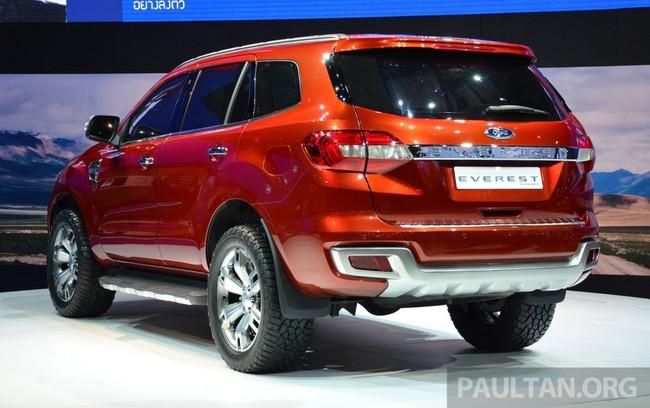 Ford Everest Concept ra mắt thị trường Đông Nam Á 4