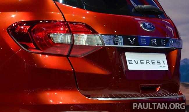 Ford Everest Concept ra mắt thị trường Đông Nam Á 9