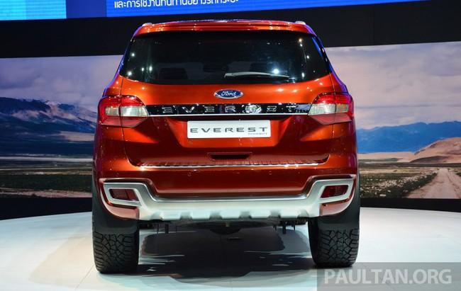 Ford Everest Concept ra mắt thị trường Đông Nam Á 5
