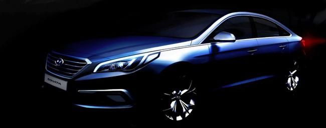 Hyundai hé lộ thêm nội thất của Sonata 2015 1