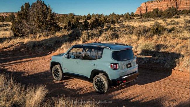 Jeep Renegade 2015 - Thách thức mới của Nissan Juke 2