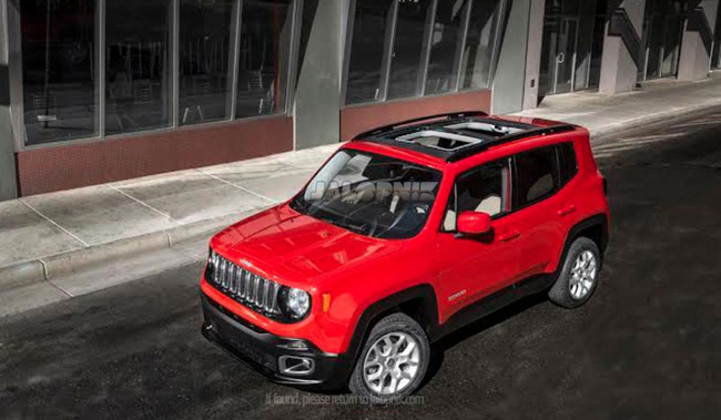 Jeep Renegade 2015 - Thách thức mới của Nissan Juke 1
