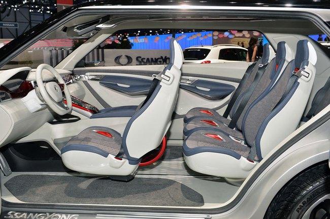 SsangYong X100 - Đối thủ mới của Honda Vezel và Hyundai ix25 13