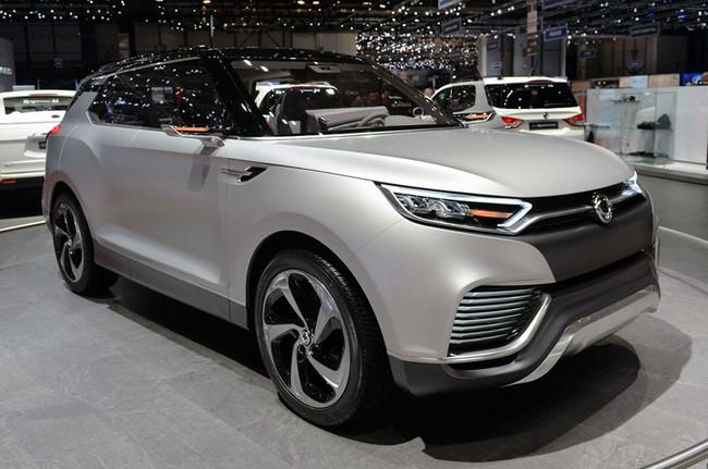 SsangYong X100 - Đối thủ mới của Honda Vezel và Hyundai ix25 1