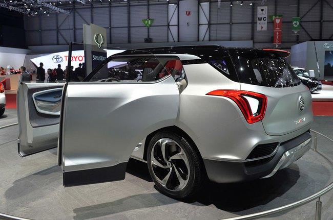 SsangYong X100 - Đối thủ mới của Honda Vezel và Hyundai ix25 2